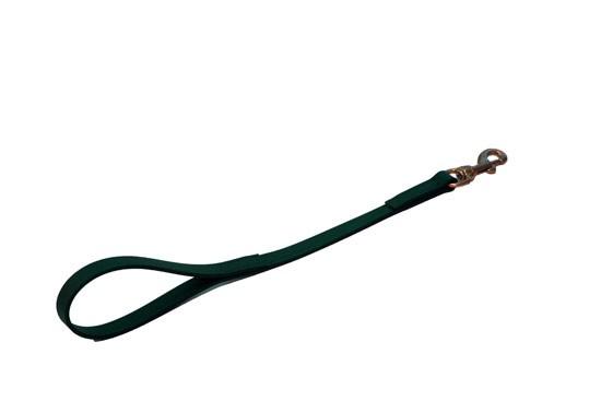 """18"""" Dog Leash - Hunter Green"""