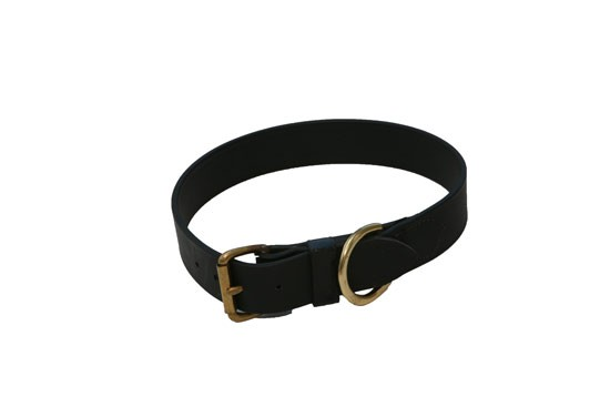 "Dog Collar - 1"" wide Black or Brown Beta"