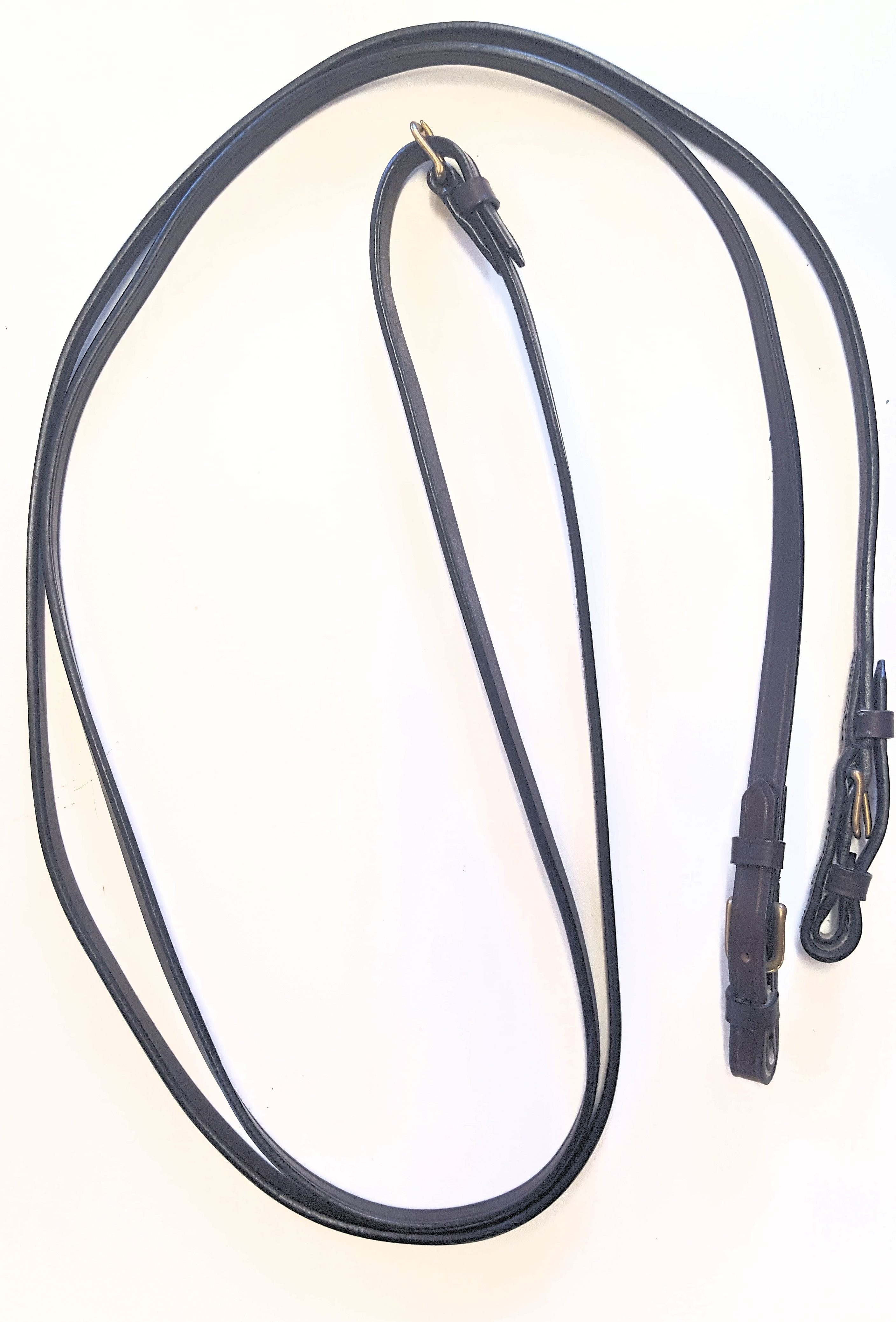 """1/2"""" LEATHER ENGLISH REINS WITH BUCKLES"""