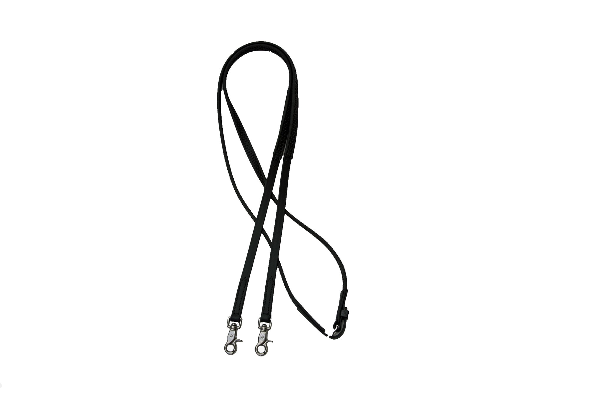 """Super Grip English Reins with Scissor Snaps.  3/4"""" Wide In Many Colors"""