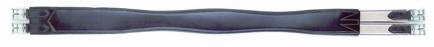 HFP Overlay Contour Leather Girth