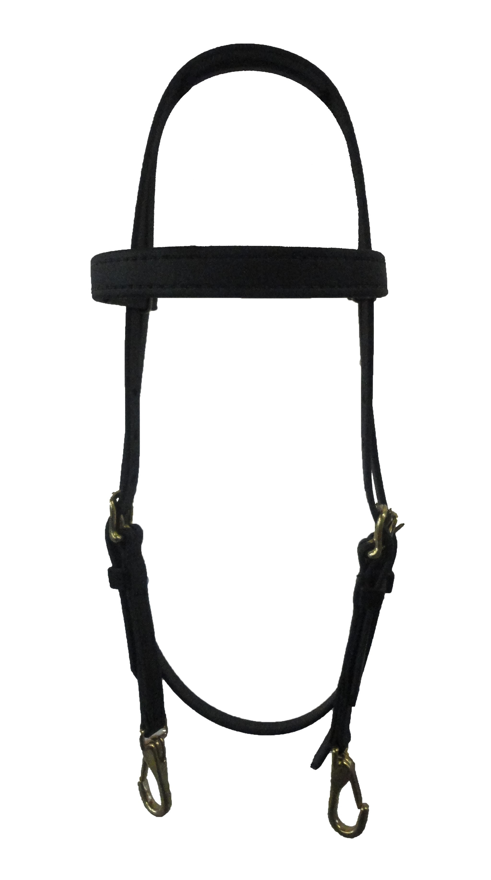 Beta Training Bridle with stainless steel snaps