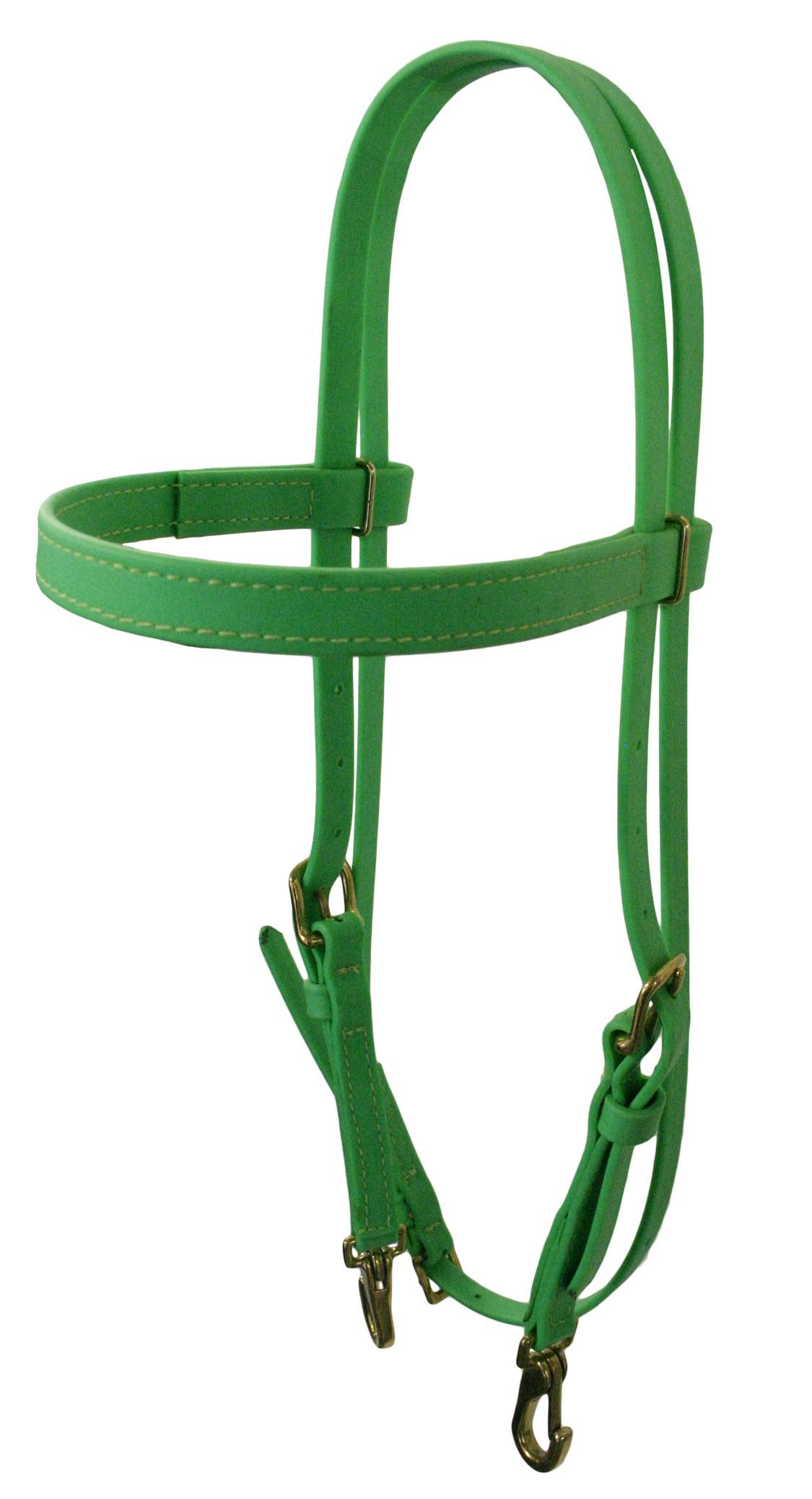 Headstall Lime Green Beta