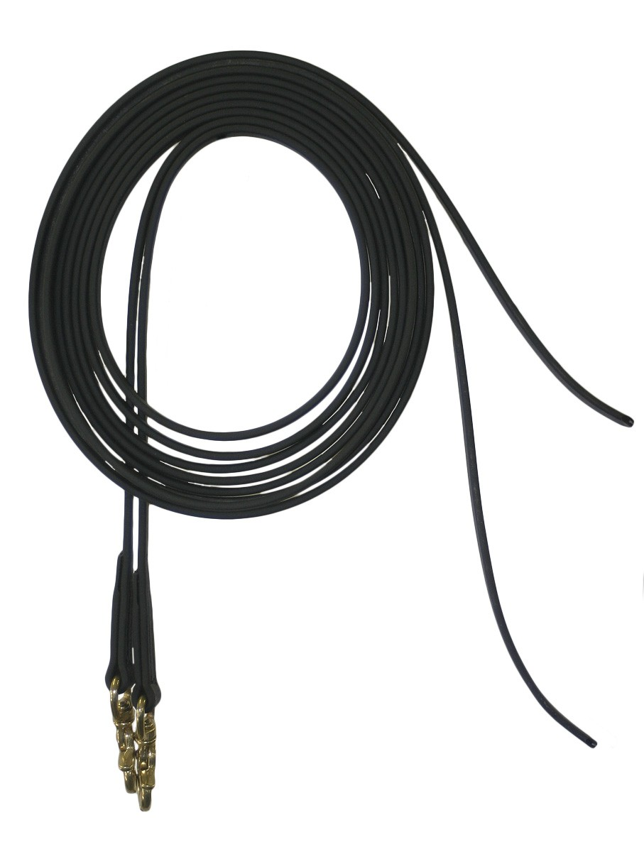 9' Split Beta Draw Reins with Scissor Snaps.  Available in many colors