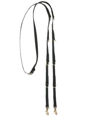German Martingale English Beta Reins With Scissor snaps.  Available in many colors