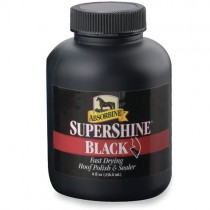 Absorbine SUPERSHINE HOOF POLISH  BLACK OR CLEAR
