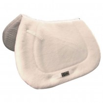 Exselle English Saddle Pad fleece Top &  Quilted Bottom