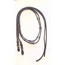 7' Split Super Grip Reins with Knobs