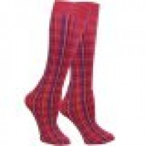 WOW Highland Plaid Equestrian Knee Boot Socks - 3 Colors