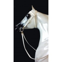 White Beta Headstall