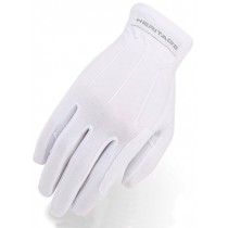 Heritage Power Grip Nylon Gloves - White