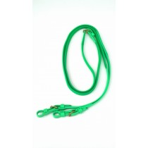 Lime Green Super Grip English Reins