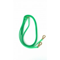Lime Green Super Grip English Reins