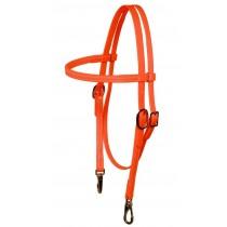 Headstall Hunter Orange Beta