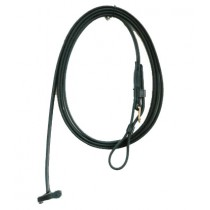 """Beta Lead with Buckle. 1/2"""" wide  Black or Brown"""