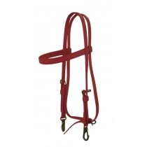 Red Beta Headstall