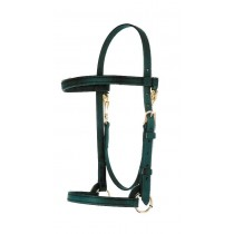 "5/8"" BETA  TRAINING HALTER WITH BROW BAND"