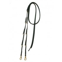 7' Smooth Beta Split German Martingale Reins.  Available in many colors